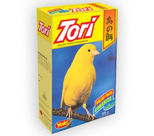 Alimento vitaminado para canário Tori 500g - Imagem em destaque