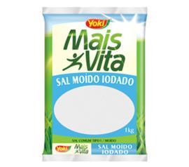 Sal moído Iodado Mais Vita  1kg