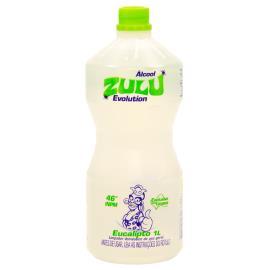 Álcool Zulu evolution eucalipto 1L