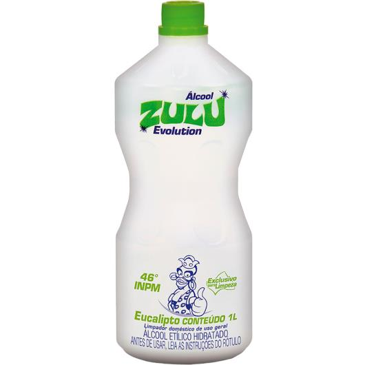 Álcool Zulu evolution eucalipto 1L - Imagem em destaque