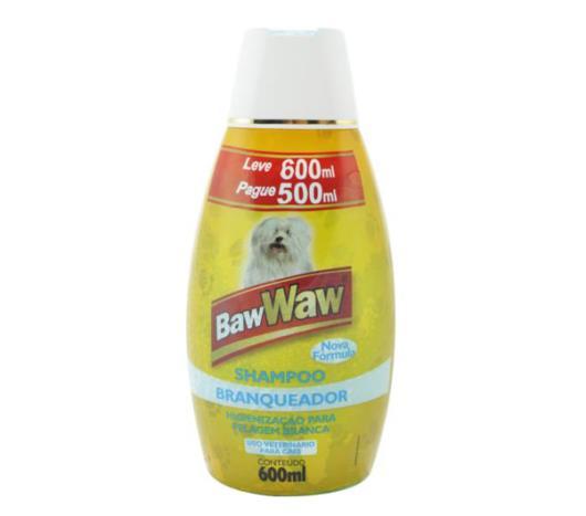 Shampoo Baw Waw branqueador 600ml - Imagem em destaque