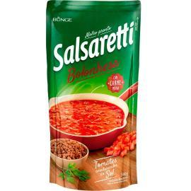 Molho de tomate a bolonhesa Salsaretti sachê 340g
