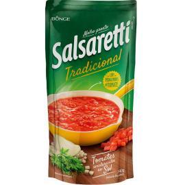 Molho de tomate Salsaretti tradicional sachê 340g