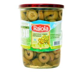 Azeitona Raiola verde fatiadas 100g