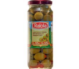 Azeitona Raiola verde e pimentão recheado 195g