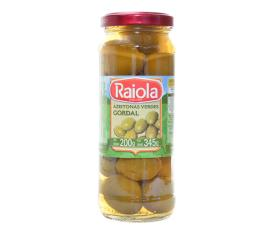 Azeitona Raiola verde gordal  200g
