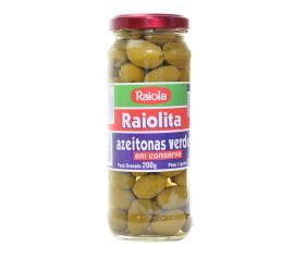 Azeitona Raiolita verde 200g