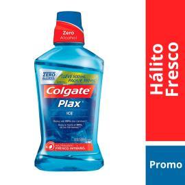 Enxaguante Bucal Colgate Plax Ice 500ml Promo Pague 350ml