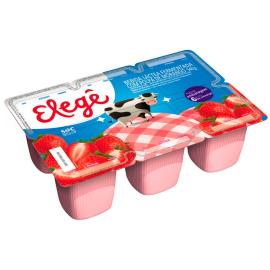 Bebida láctea Elegê sabor morango 540g